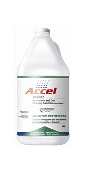 Accel Wash Instrument Cleaning Solution 4ltr