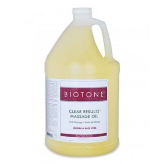Biotone Clear Results Massage Oil - 128oz