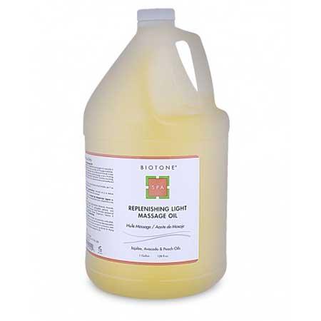 Biotone Replenishing Light Massage Oil - 128oz