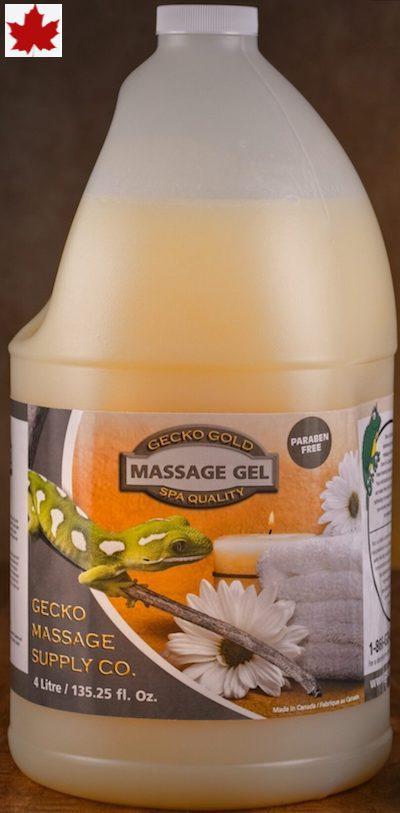 Gecko Gold Massage Lotion