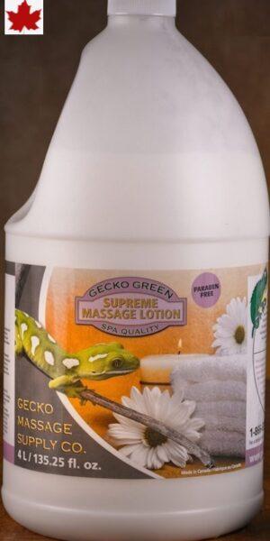 Gecko Green Supreme Massage Lotion