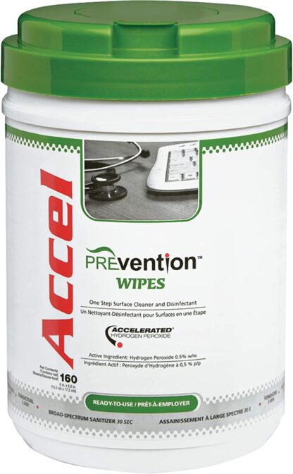 Accel Prevention Disinfecting Wipes