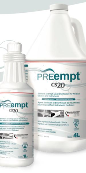 PreEmpt (Accel CS20) Instrument Chemosterilant