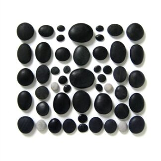 Hot Stone Massage Set - 50 Basalt