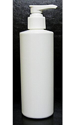 8 ounce Bottle with pump 8oz 240ml