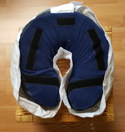 Draped Flannel Headrest Covers 100% cotton