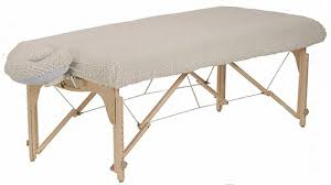 Fleece Table Cover with headrest cover