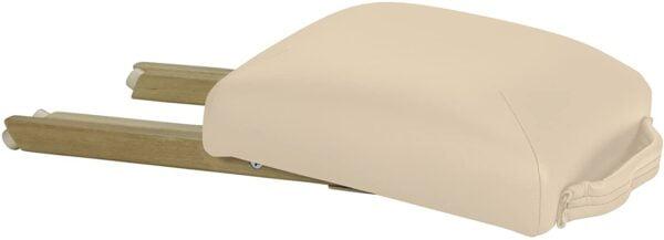 Earthlite folded stool beige side