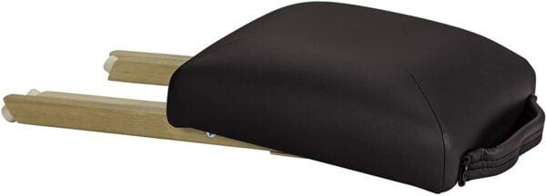 Earthlite folded stool black side