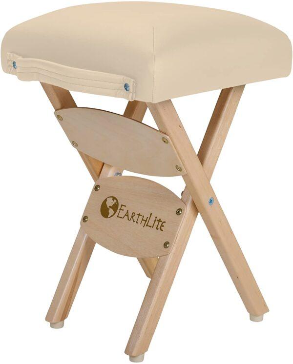 Earthlite folded stool beige