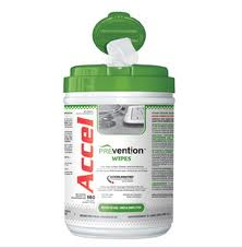 Accel Prevention Accelerated Hydrogen Peroxide Disinfecting Wipes - 160 count