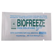 Biofreeze Gel Sample Sachet 3ml
