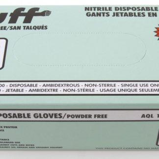 Examination Gloves - Nitrile - Powder Free - Medium