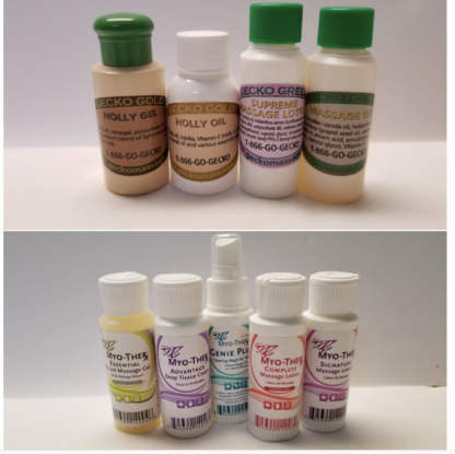 Lotion and Gel Sample Pack
