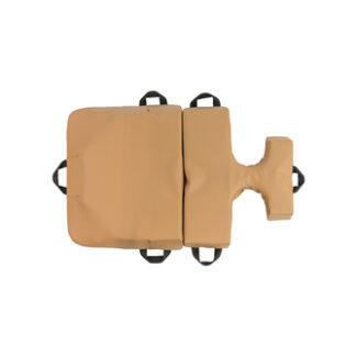 bodyCushion mini cushion with breast protector Tan Top View