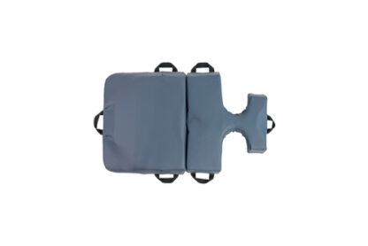 bodyCushion mini cushion blue with breast protector Top View