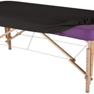 Earthlite Vinyl Massage Table Cover - Black