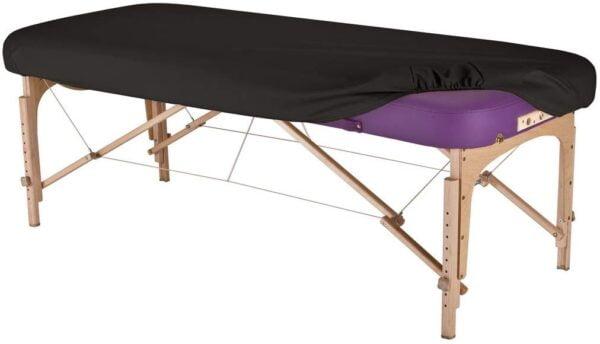 Earthlite Vinyl Massage Table Cover - Black