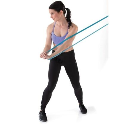 Gymstick Powerband in use woman