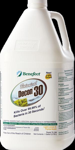 Benefect Decon30 Disinfectant 4ltr