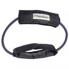 Theraband Tubing with Cuff - Blue