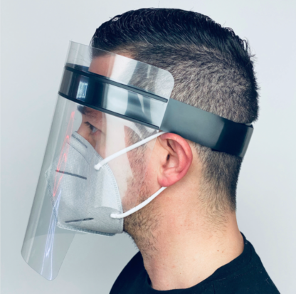 Face Shield with velcro strap